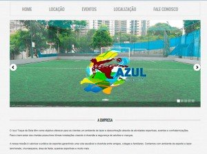 Criação de site de empresas de esportes
