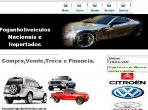 Criação de Sites de Veículos e Transportes