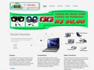 Criação de Sites de  Informática