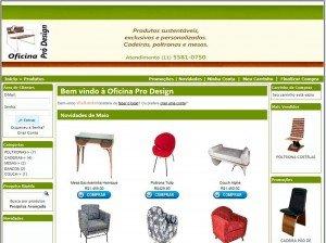 Criação de Sites para fabricante de móveis e decoração