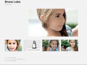 Criação de Sites de modelos e Fotógrafos