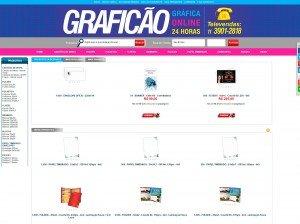 Lojas Virtuais para Gráficas
