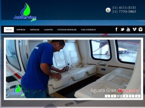 Criação de Sites para empresas de Aeronaves e Aviação