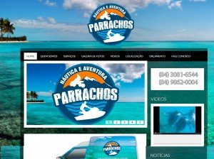 Criação de Sites para empresas de equipamentos náuticos