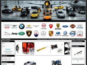 Criação de sites para empresas de auto e moto peças