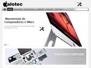 Criação de Sites para Empresas de Manutenção Apple