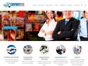 Criação de Sites parta Empresas de Automação comercial