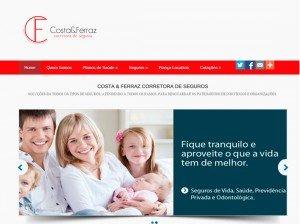 Criação de Sites para corretoras de seguros