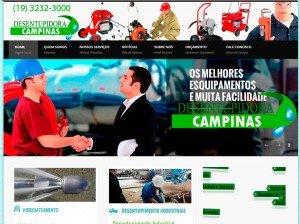 Criação de Site para Empresas de Desentupidora