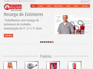 Criação de Sites para Empresas de Extintores