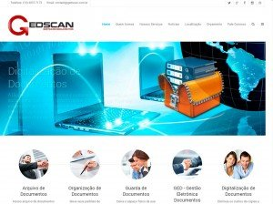 Criação de sites de tecnologia