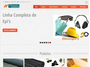 Criação de Sites para Empresas de Epis e Construção Civíl