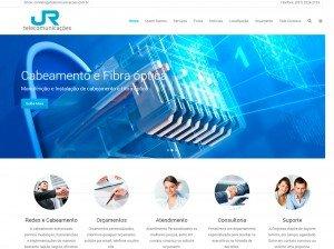 Criação de Sites para empresas de telecomunicação