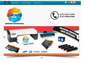 Criação de Sites para empresas de Impressoras