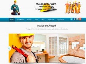 Criação de Sites para empresas de Marido de Aluguel