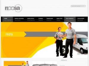Criação de Sites para empresas de Transportes e Locação de Veículos