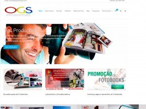 criação de sites para empresas de produção e fotógrafos