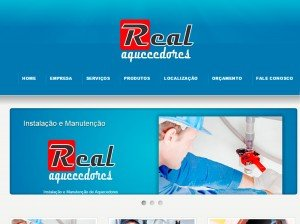 Criação de Sites para Empresas de Manutenção de Aquecedores