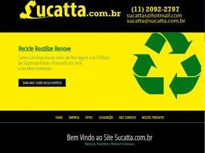 Criação de Site para Produtos Recicláveis