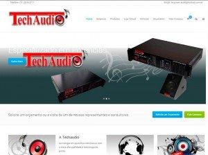 Criação de Sites para empresas de áudio e video