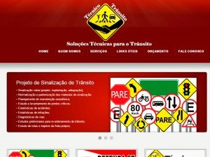 Criação de Site para  Técnicos em Trânsito