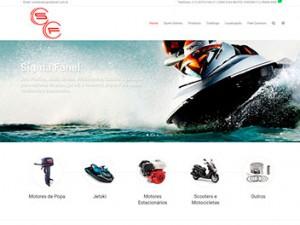 Criação de Sites Moto peças e Jet Sky