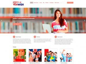 Criação de sites para cursos e escolas